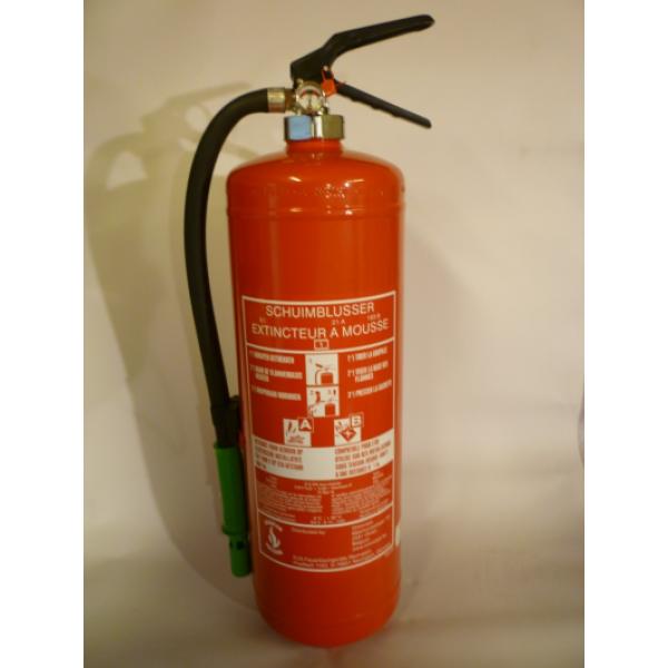 Schuimblusser 6 liter met BENOR keurmerk