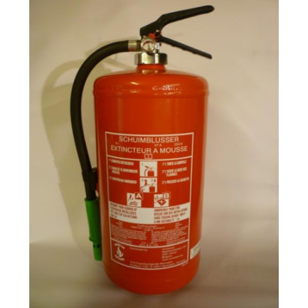 Schuimblusser 9 liter met BENOR keurmerk