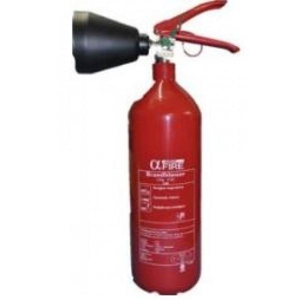 CO2 brandblusser 2 KG