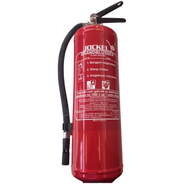 Vorstbestendige brandblusser 6 liter (Vorstvrij)